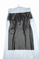 c394bd118b7 These Clear Poly Dry Cleaning Bags or Garment Bags on Rolls are made with  hanger holes